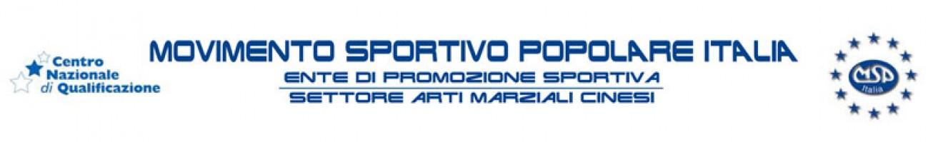CIRCOLARE SETTORE ARTI MARZIALI CINESI MSP