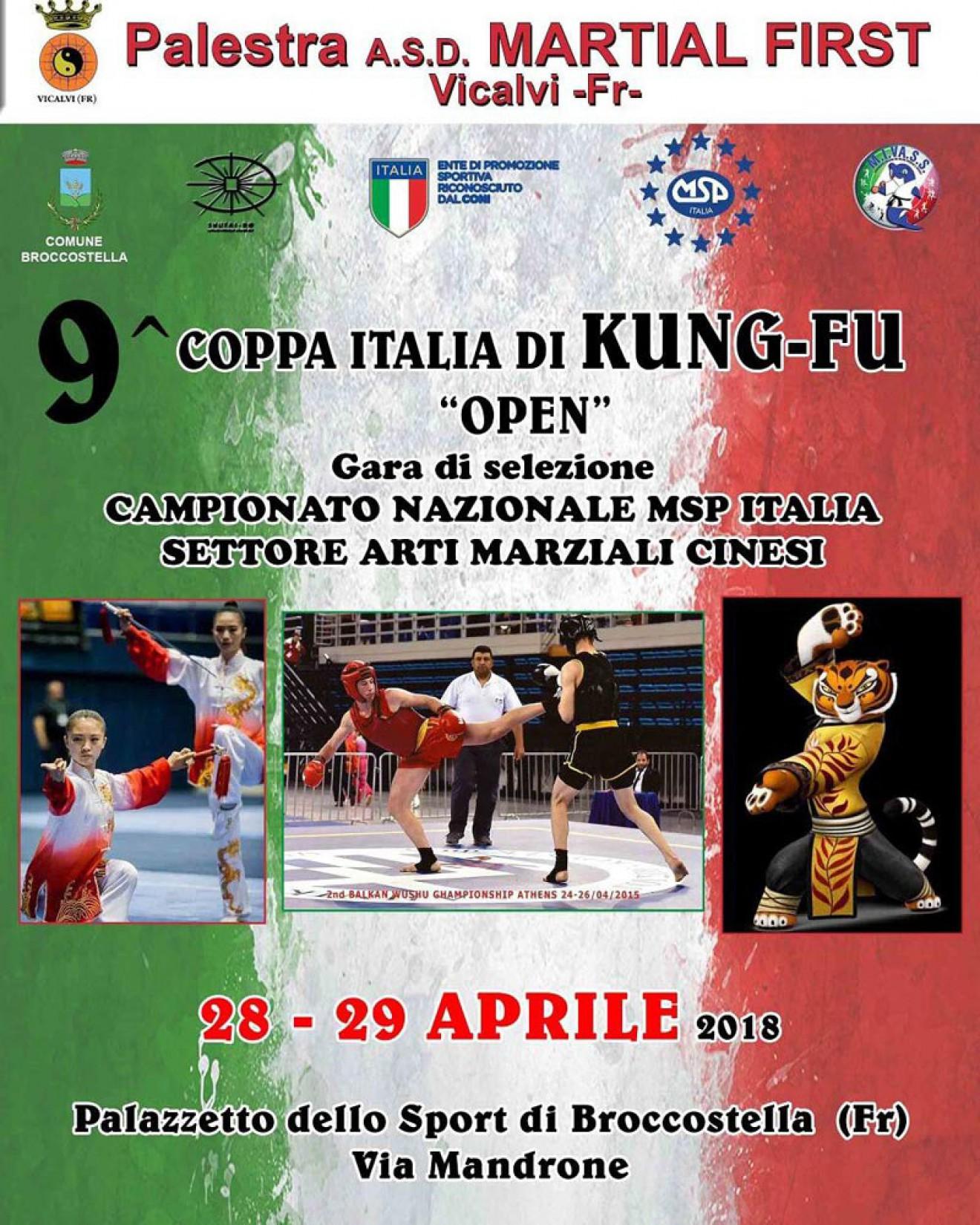9 Coppa Italia di Kung-fu