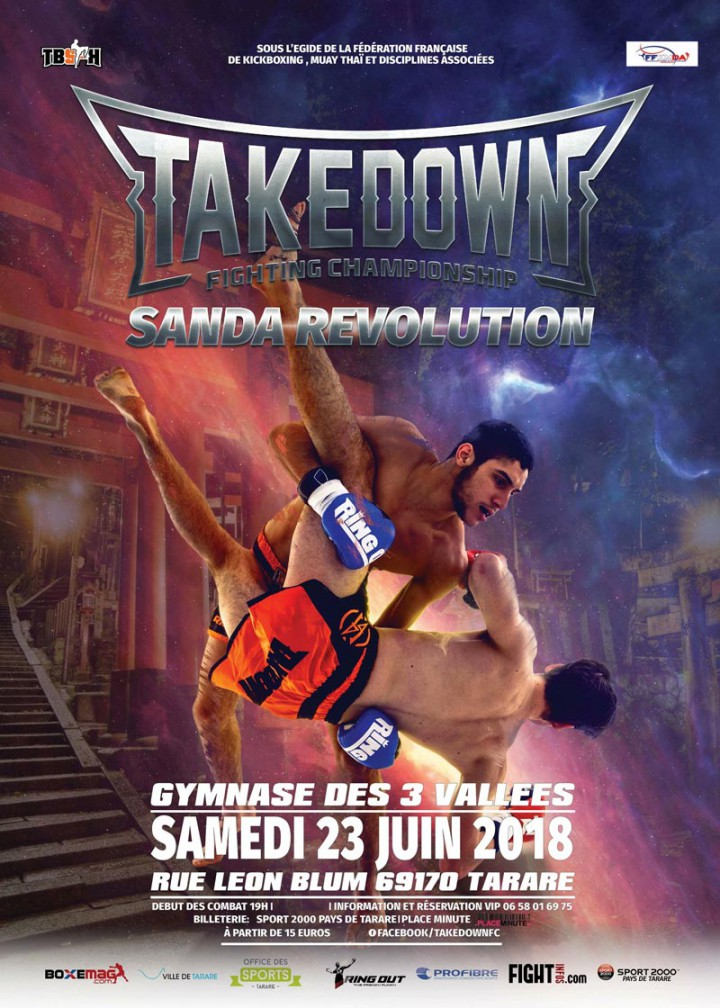 Takedown Fighting Championship Sanda Revolution
