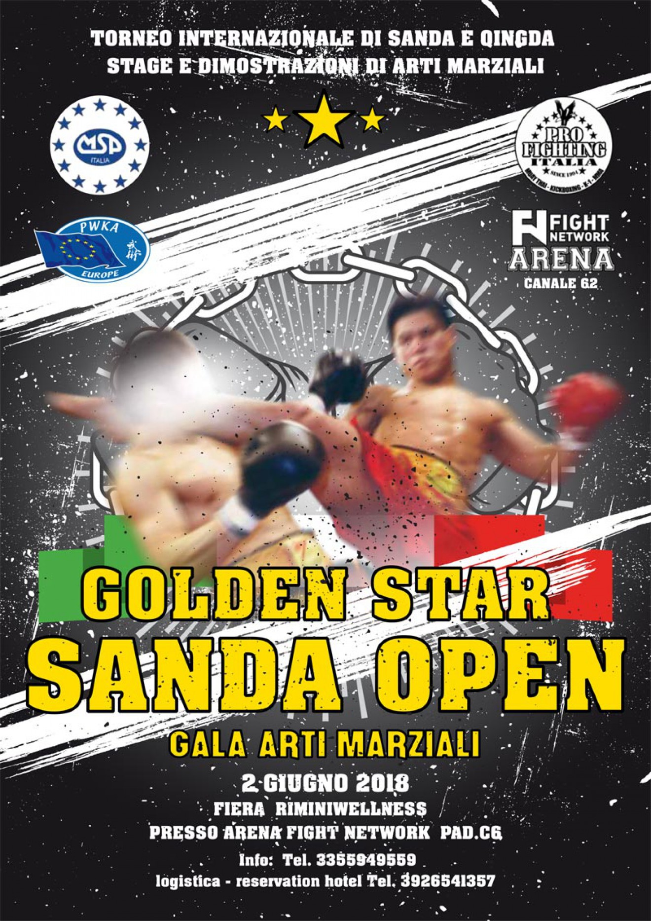 Golden Star Sanda Open