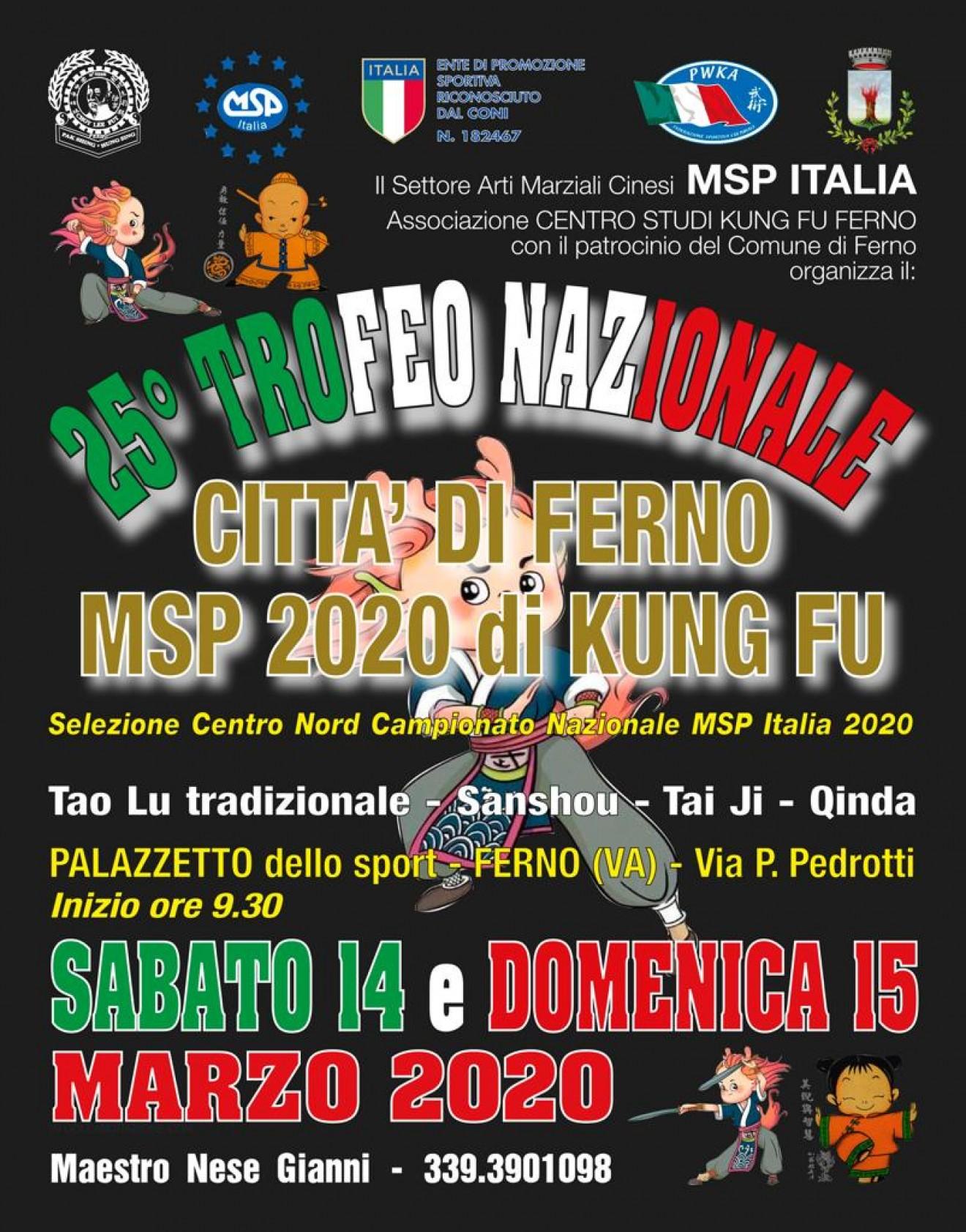 25° TROFEO NAZIONALE CITTA' DI FERNO
